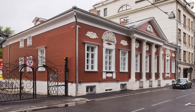 Проект реставрации усадьбы А.П. Сытина. Главный фасад 2019 год
