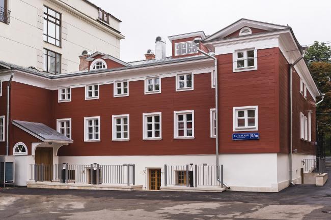 Проект реставрации усадьбы А.П. Сытина. Дворовый фасад 2019 год