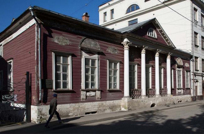Проект реставрации усадьбы А.П. Сытина. Фото до реставрации 2016 год