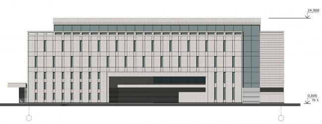 Юго-восточный фасад. Реконструкция вестибюля станции «Политехническая» и строительство МФК