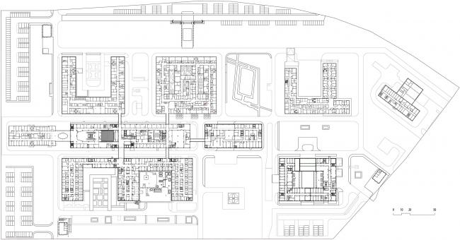 Многопрофильный медицинский центр «Новомосковский» в Коммунарке. План 2 этажа