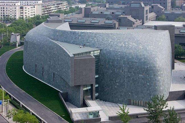 Музей искусств Центральной Академии художеств (CAFA). Фотография ©  Iwan Baan