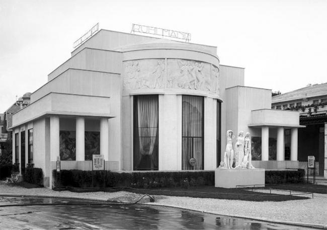 Павильон «Дом Коллекционера», архитектор П. Пату, скульптор Ж. Бернар