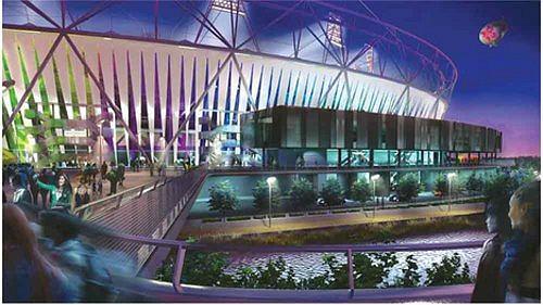 Олимпийский стадион 2012. Проект сентябрь 2008