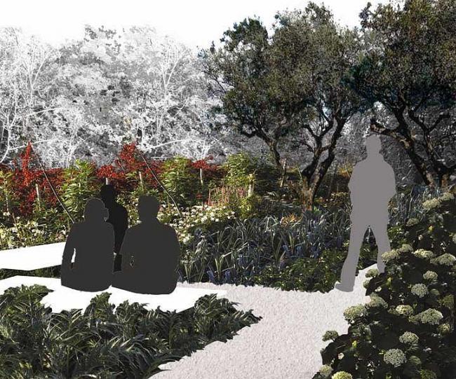 Кэтрин Густафсон. Инсталляция «К Раю». Проект