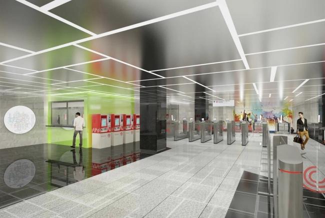 Станция метрополитена «Университет Дружбы Народов»