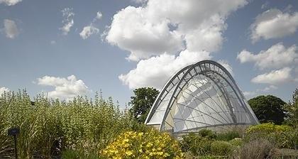 Оранжерея «Альпийский дом» в садах Кью. Лондон