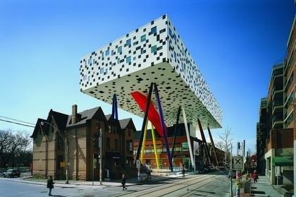 Центр дизайна Шарпа в Колледже искусства и дизайна Онтарио. Торонто