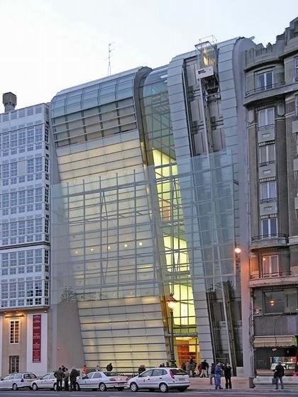 Кайкса Галисия - Фонд искусств. Ла-Корунья, Испания