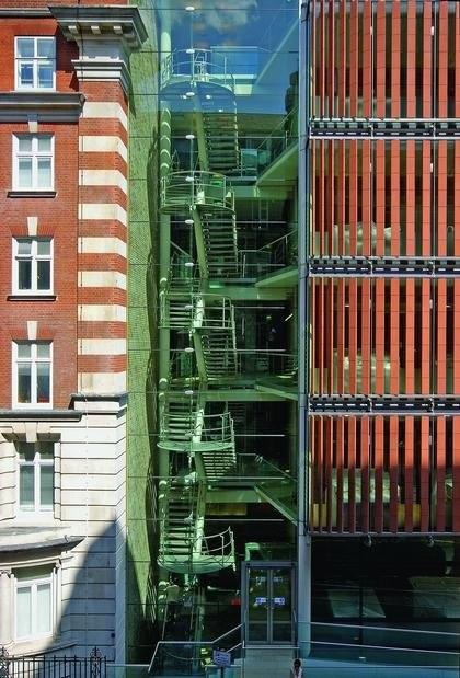 Институт изучения рака. Корпус Paul O'Gorman. Лондон