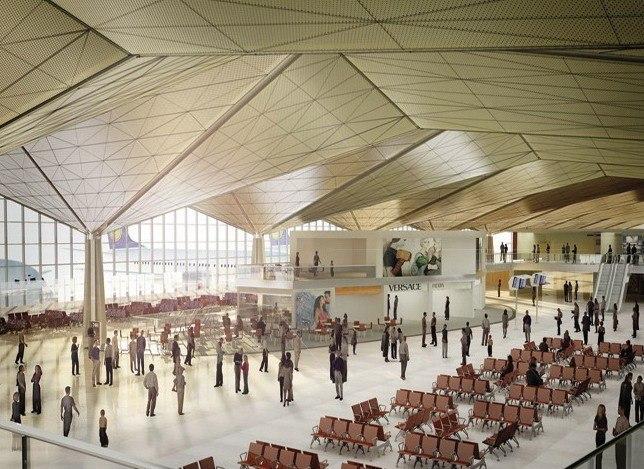 Аэропорт «Пулково» – реконструкция. Санкт-Петербург