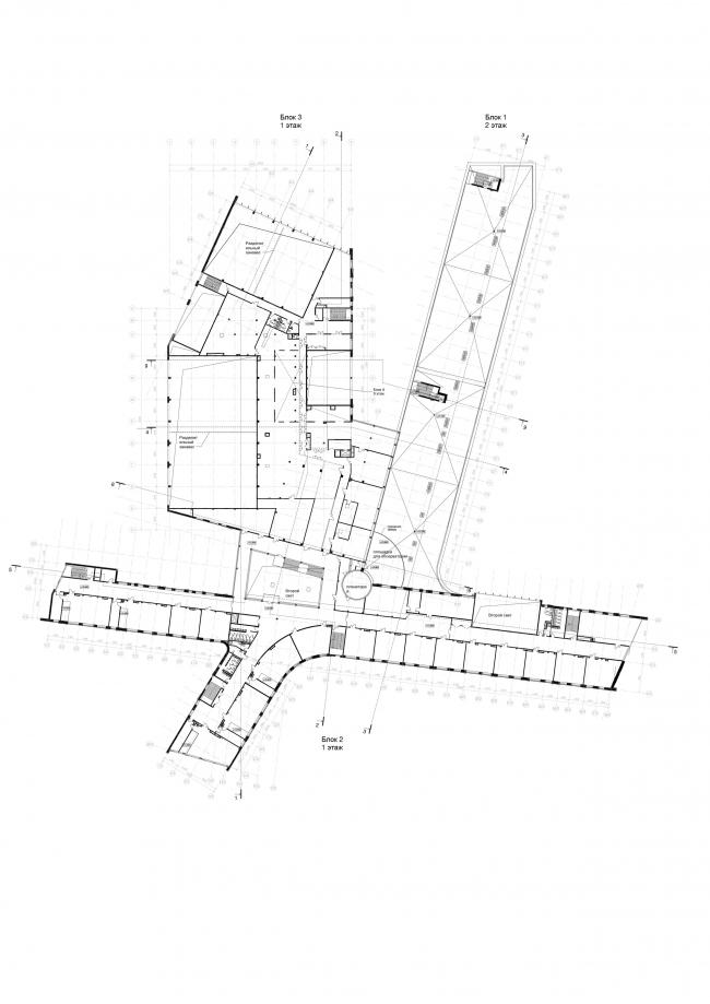 Школа на 2100 мест в Троицке. План 4-го этажа
