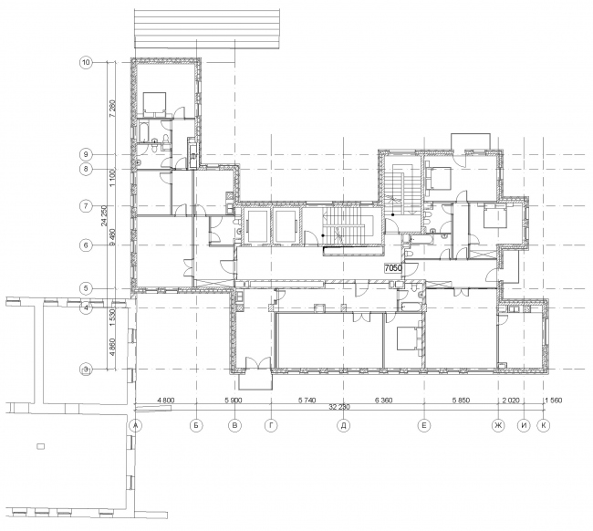 Edison House. План типового этажа с апартаментами. Проект 2013 года