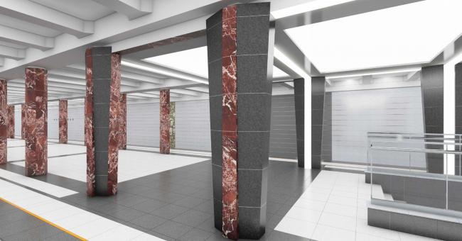 Станция метро «Каховская»