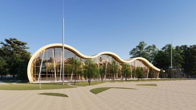 Многофункциональный спортивно-оздоровительный кластер «Теннисный центр».  Москва