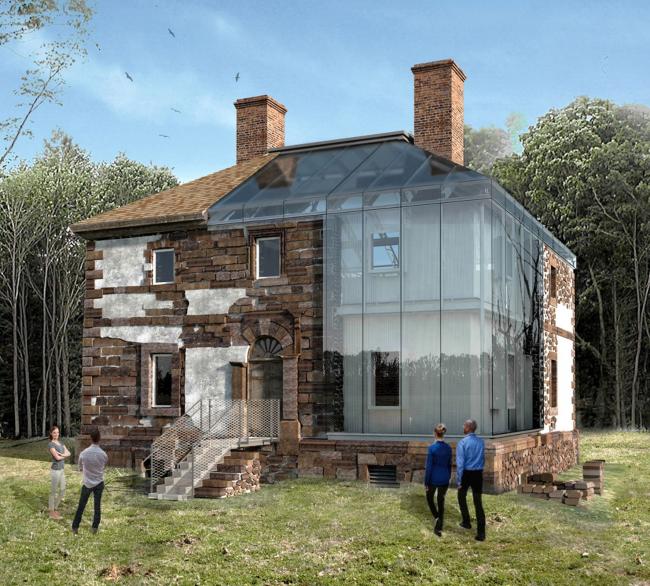 Проект «Стеклянный дом» – плантация Менокин