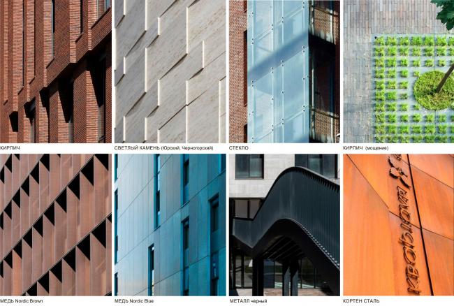 Дизайн код отделки фасадов садовых кварталов. Школа при МГИМО в составе ЖК «Садовые кварталы»