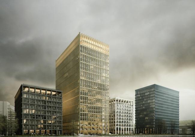 Бизнес-квартал STONE Towers