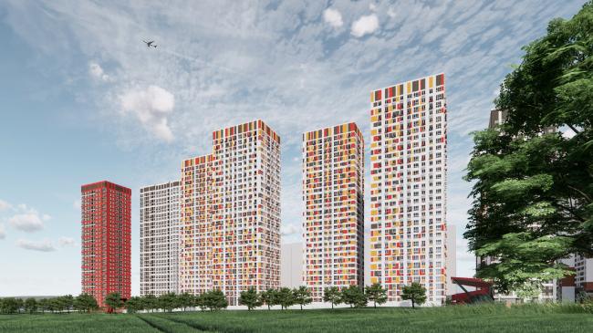 Комплексы В3 и А5 жилого квартала «Спутник»