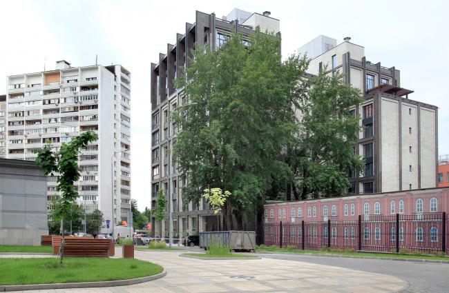 ЖК «Оливковый дом» / АМ «ГРАН» (Мастерская Павла Андреева)