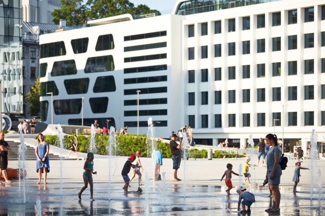 Площадь Единства (Венибес) – реконструкция