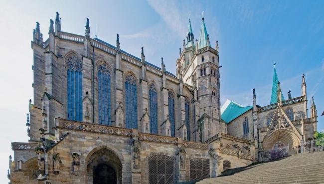 Эрфуртский собор,  посвящённый Деве Марии, кафедральный собор эрфуртского епископства