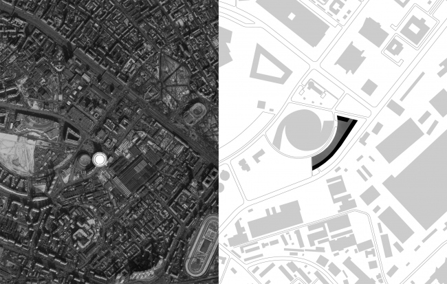 Положение в городе и ситуационный план. Жилой комплекс «Лица»