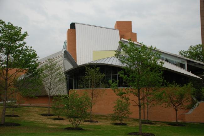 Научная библиотека Питера Б. Льюиса Принстонского Университета. Фото: Peter Dutton via Wikimedia Commons. Лицензия CC BY 2.0