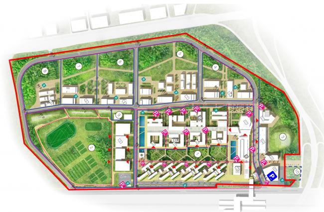 Кампус университета ИТМО. Мастер-план 2018 года