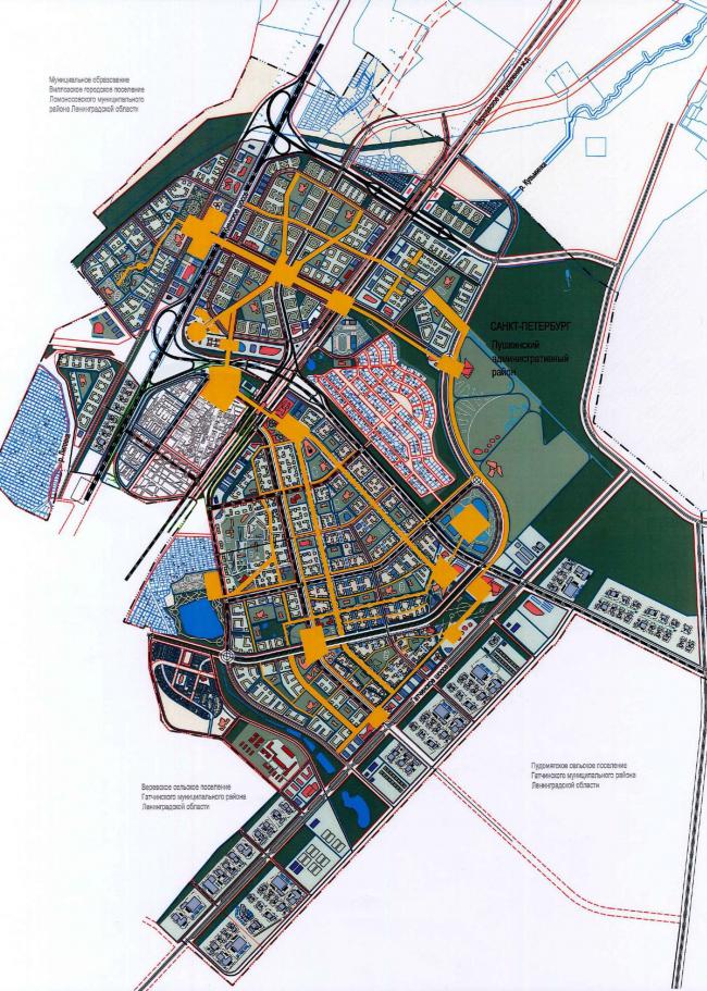 Кампус университета ИТМО с составе города-спутника Южный