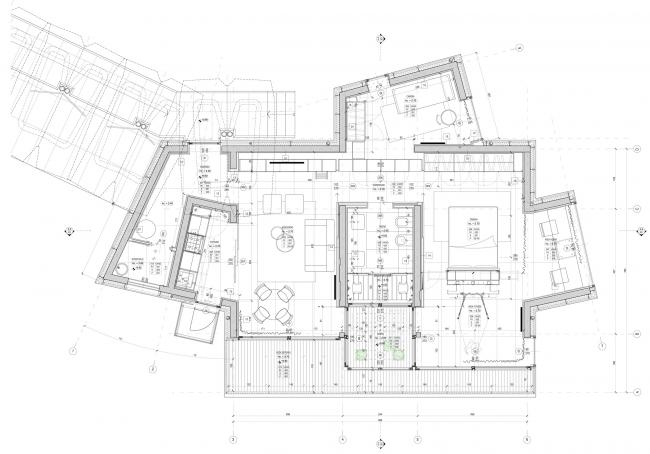 План. Проект модульного жилища «Здоровый дом – Антивирус»