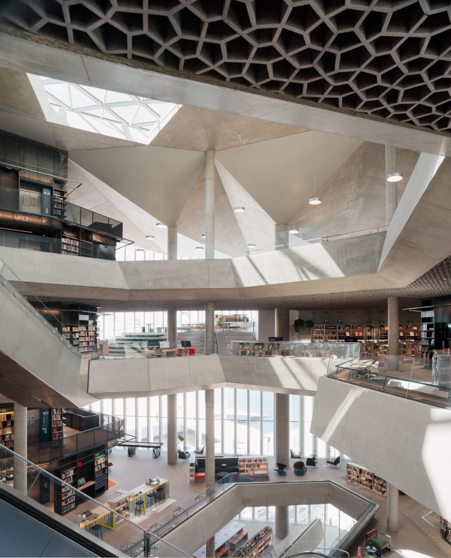 Дайкман – Бьёрвика, главная библиотека Осло
