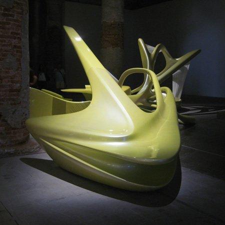 Инсталляция Захи Хадид