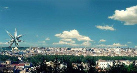 «Невечный город». «Суперзвезда»  бюро MAD на фоне Рима
