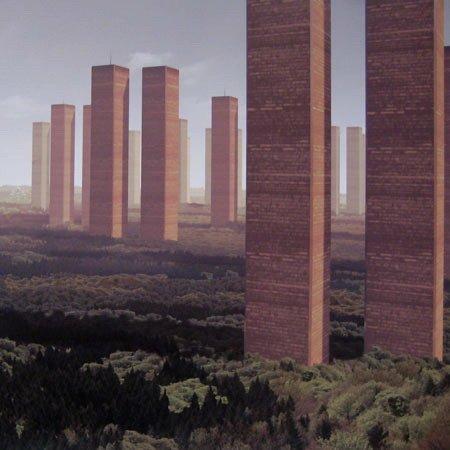 NL Architects. «Фантомная боль». В столицах Европы не используется 18 кв. км офисного пространства = 50 пар «башен-близнецов»