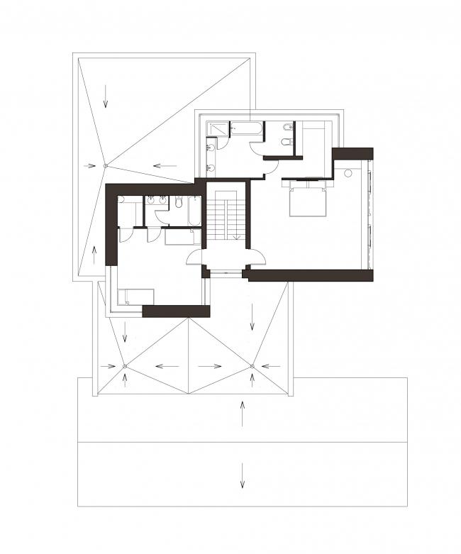 План 2-го этажа. Дом как приватный квартал