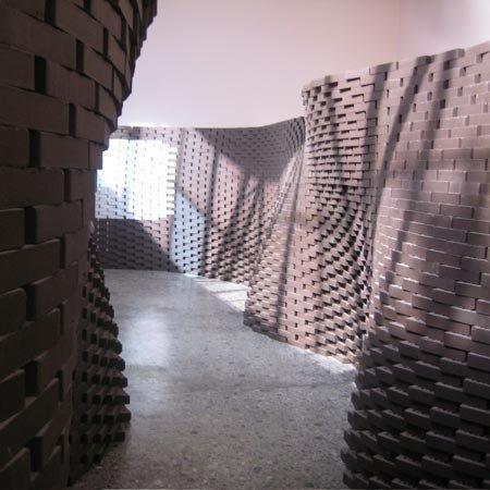 Инсталляция в павильоне Швейцарии