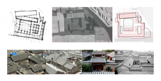 Общее расположение. Shuanglong Lane Immersive Theatre