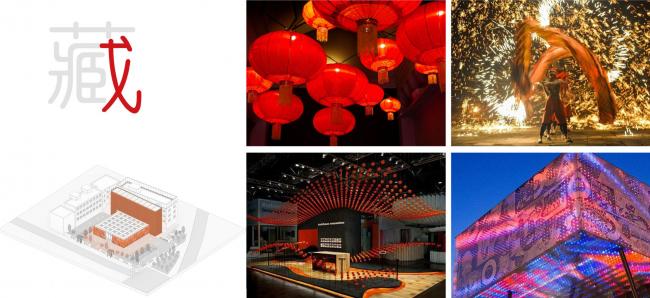 Концепция световой программы. Shuanglong Lane Immersive Theatre
