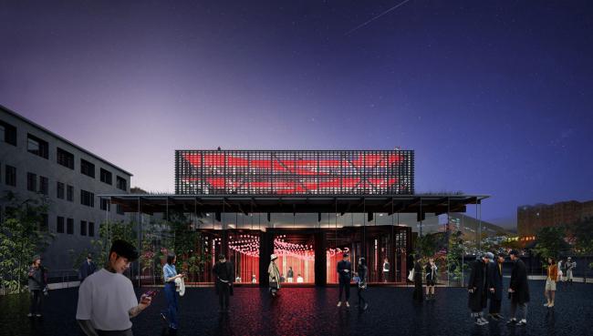 Shuanglong Lane Immersive Theatre, проект-победитель международного конкурса