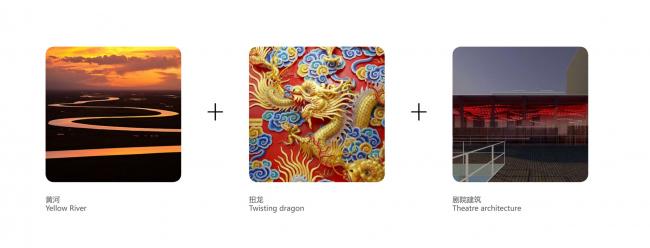 Символическая основа концепции логотипа. Shuanglong Lane Immersive Theatre