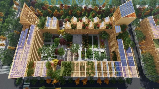 Жилой массив для Нового города Сюнъань