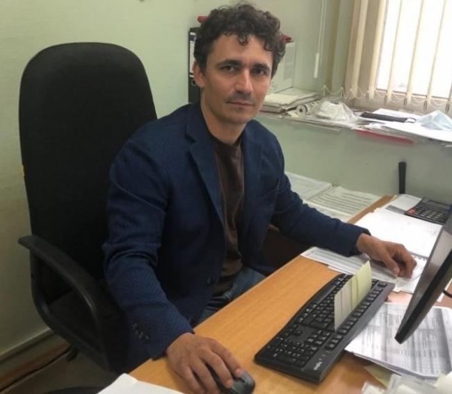 Максим Павлов, главный инженер компании «ОртОст-Фасад», ГИП по устройству конструкции внешней облицовки храма Вооруженных сил России.