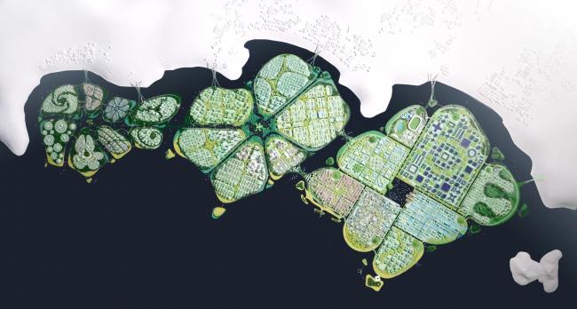 Мастерплан южных островов у побережья Пинанга BiodiverCity