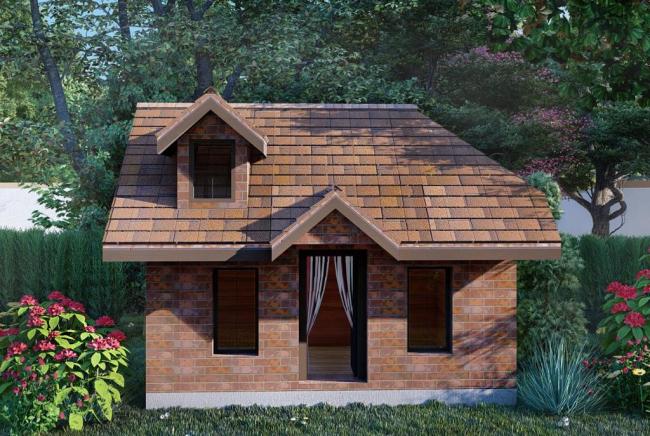 Подарок – проект игрового домика для детей!
