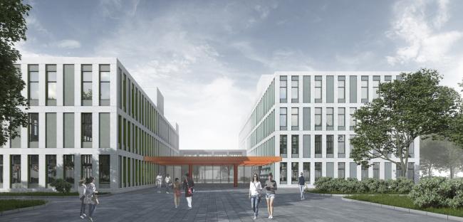 Regional hospital for 240 beds