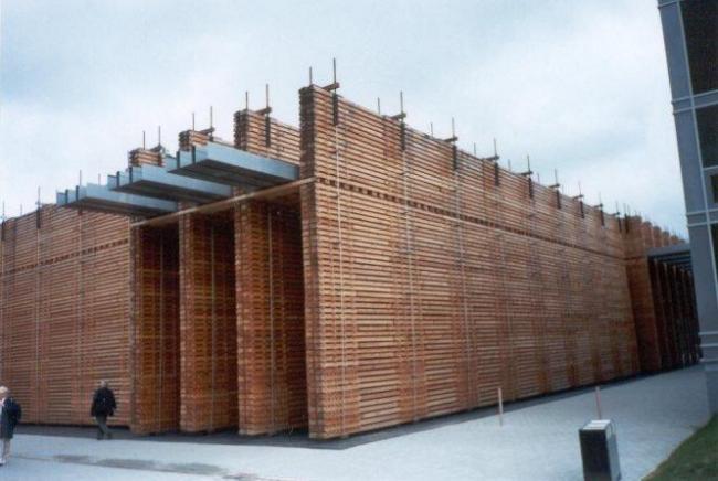 Павильон Швейцарии на Экспо-2000 в Ганновере