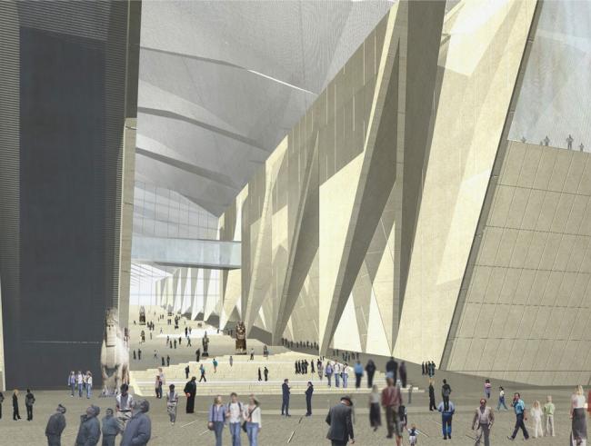 Большой Египетский Музей © heneghan peng architects