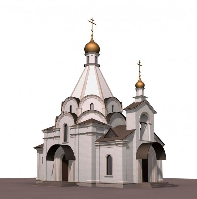 Храм Усекновения главы Иоанна Предтечи у Новодеичьего монастыря