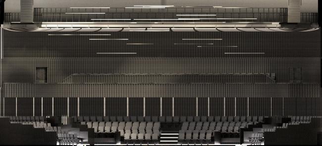 Концепция интерьеров Государственной филармонии Якутии. Арктический центр эпоса и искусств. г. Якутск